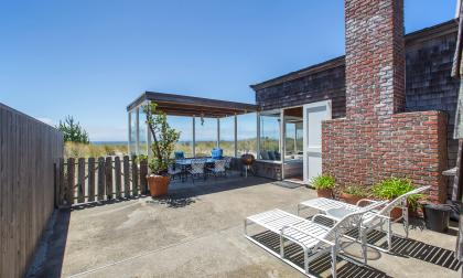 Enclosed Patio on Oceanside